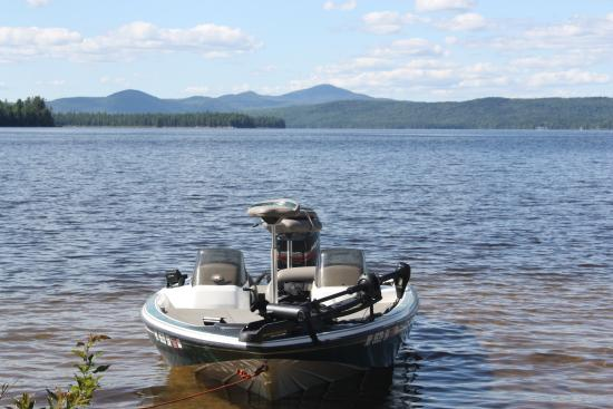 Errol, NH: Umbagog Lake Bass Fishing