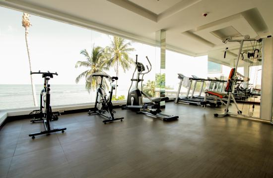 Royal Beach Boutique Resort & Spa: Gym at Royal Beach Samui