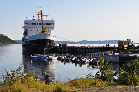Happy Valley-Goose Bay, Canada: At the dock in Rigolet