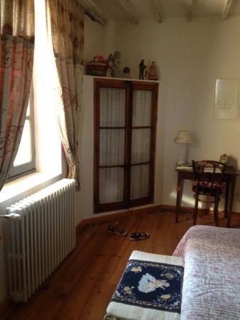 La Margotte : комната, нолненная солнцем и воздухом