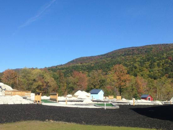 Danby, VT: Fall view at Otter Creek Fun Center