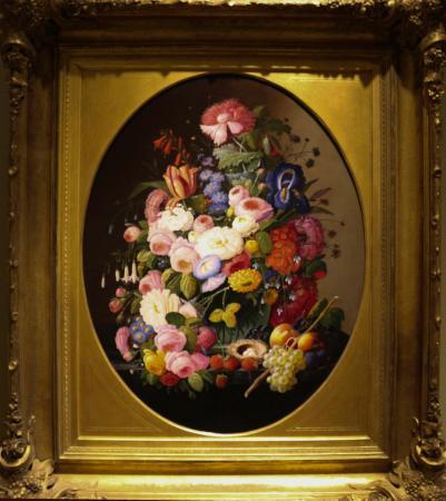 The Cummer Museum Of Art And Gardens Still Life With Flowers Fruit Birds
