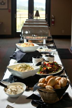 Cobble Hill, Kanada: Wedding/Banquet Buffet