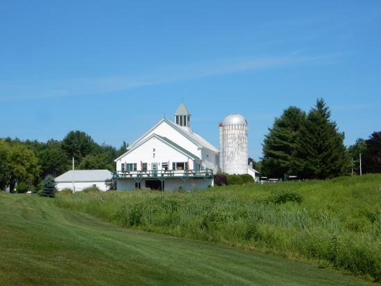 Leeds, ME: A former dairy farm converted into a golf course.