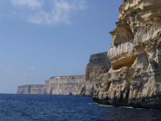 Munxar, Malta: Sanat Cliffs