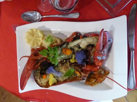 Pierrefeu-du-Var, Francia: Le plat exquis