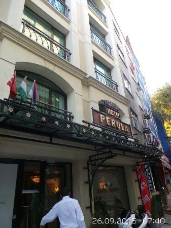 Hotel Perula: Excellent hotel and location