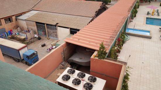 Mogador Express Gueliz : la vue de la chambre 4004