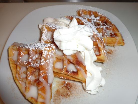 Jessup, PA: Cinnamon Bun Waffle