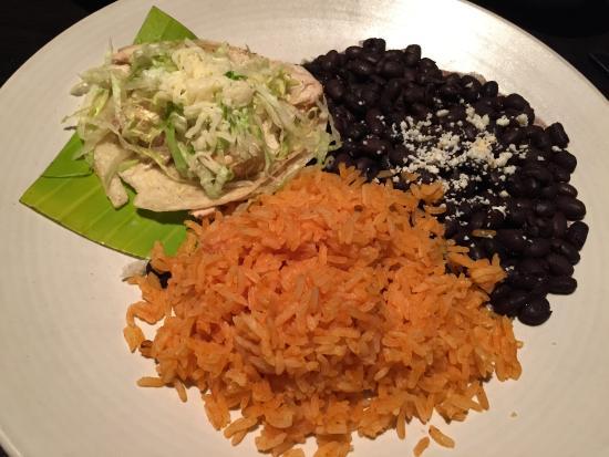 Сан-Клементе, Калифорния: Tacos, beans and rice