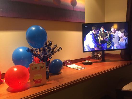 Premier Inn Knutsford (Bucklow Hill) Hotel: Birthday surprise