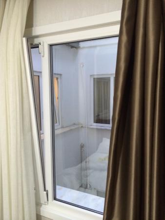 Lady Diana Hotel: вид из окна на соседний номер