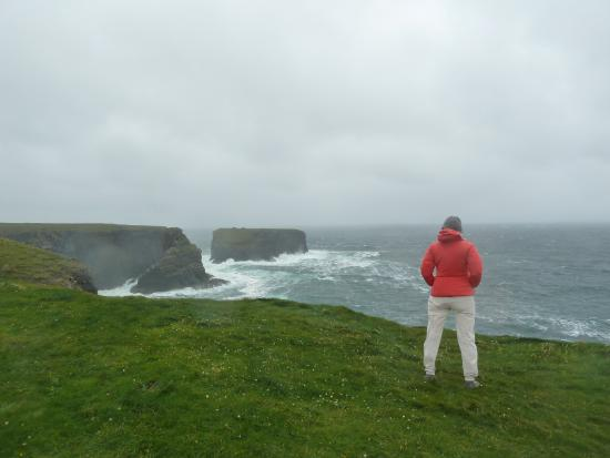 The Strand Seafood Bistro and Guesthouse: KILKEE CLIFFS