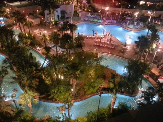 Universal's Cabana Bay Beach Resort: Vista desde la habitación