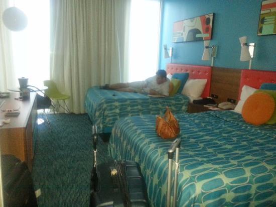 Universal's Cabana Bay Beach Resort: Habitación