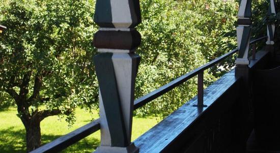 Haus Seiwald: Ausblick vom Balkon