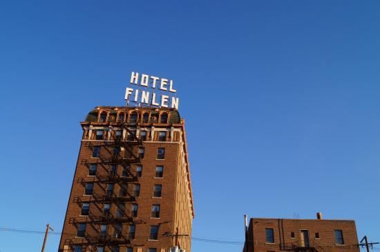 Finlen Hotel and Motor Inn: außen