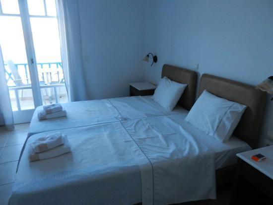 Lioliou Beach Hotel : La camera