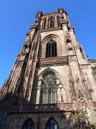 Katedra Notre Dame w Strasbourgu: cathedrale de strasbourg