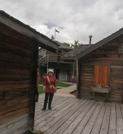 Fort Macleod, Kanada: Fort -