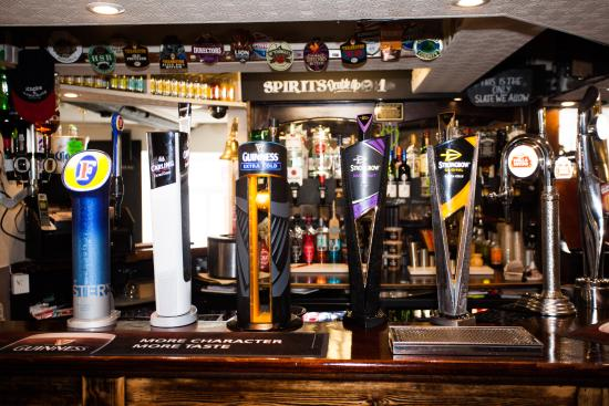 The New Inn: New bar layout