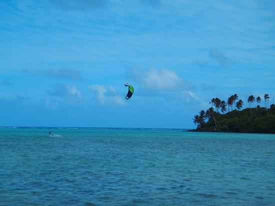 KiteSup Cook Islands: Water Lesson