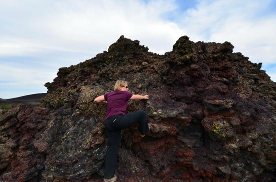 Craters of the Moon National Monument: There are lots of volcanic bombs and formations available for the kids...of all ages!