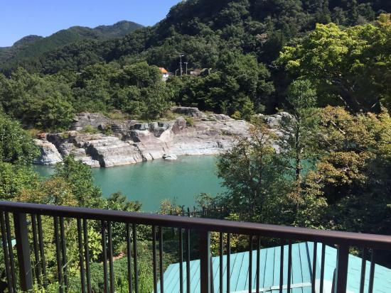 Nagatro Choseikan Ryokan: 部屋からの眺め