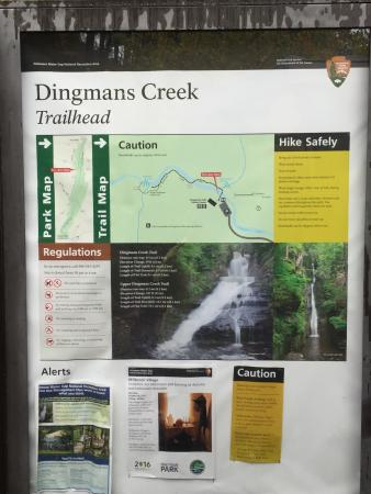 Dingmans Ferry, Pensilvania: Dingmans Falls