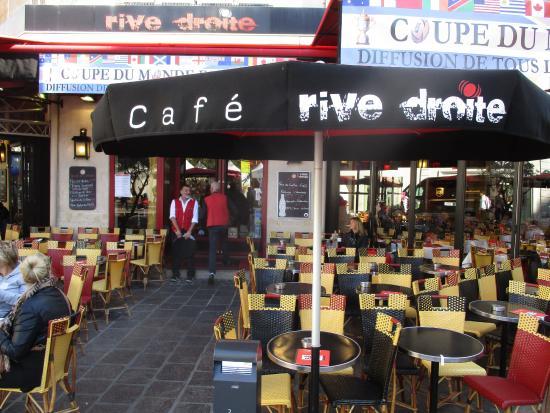 cafe rive droite photo de cafe rive droite paris tripadvisor. Black Bedroom Furniture Sets. Home Design Ideas