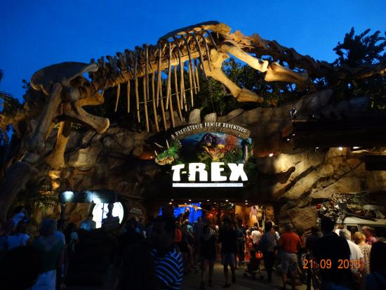 T rex picture of t rex cafe orlando tripadvisor for T rex location