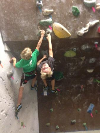 Rocktown Climbing Gym : Fun night with the boys!