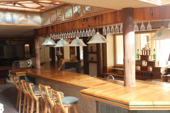 Tobya Boutique Hotel : This is the bar of the hotel with a Saharian design