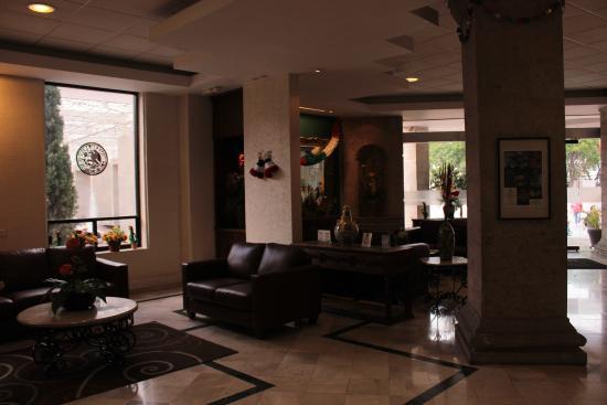 Quality Inn Aguascalientas: Lobby