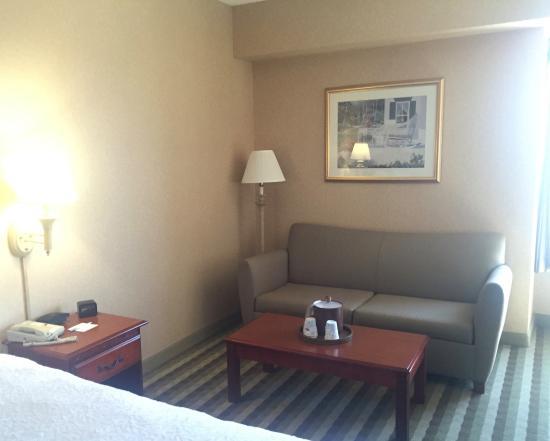 Hampton Inn Waterville : room