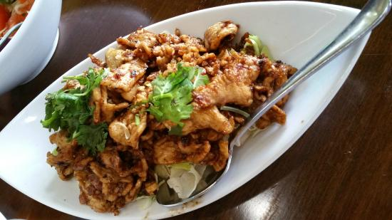Thai Dishes Garlic Pepper W En