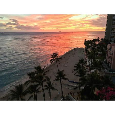Honolulu Sunsets Picture Of Outrigger Waikiki Beach Resort