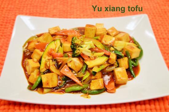 أوبسالا, السويد: YU xiang  tofu