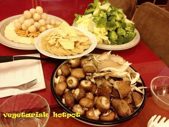 أوبسالا, السويد: veg  hotpot