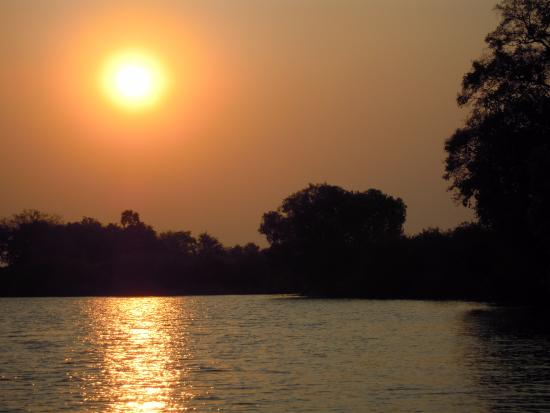 Ra-Ikane: Sunset on the Zambezi River