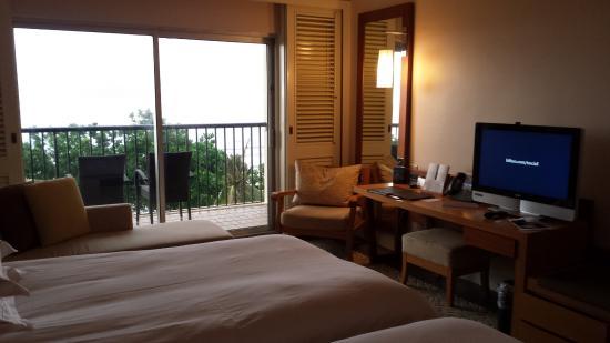 Hilton Guam Resort & Spa: glad to have a nice bacony