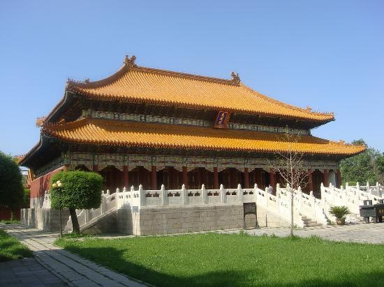 Harbin Confucian Temple : Главный храм
