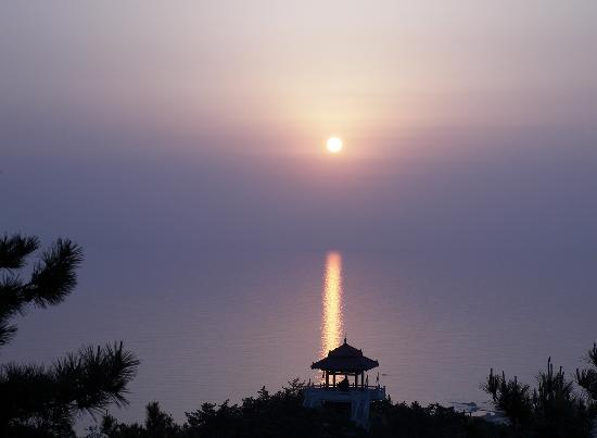 Qingdao, China: Langya Sunrising