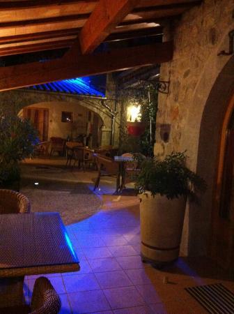 Hotel La Garenne: terrasse