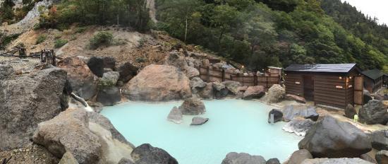 Ubayu Onsen : 薬師の湯です。