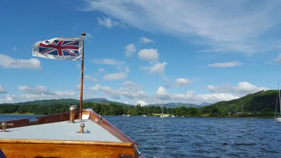 Bowness-on-Windermere, UK: Nice in good weather!