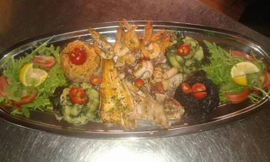 Butua: Рыбная тарелка
