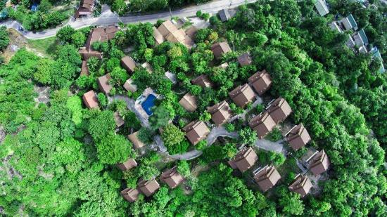 Haad Yao Over Bay Resort: top view