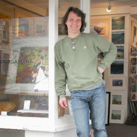 Owner Mark David Hatwood FRSA, The Harbour Gallery, Portscatho, Cornwall, United Kingdom