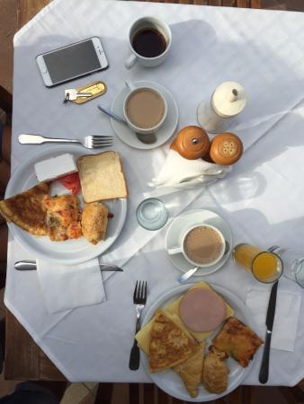 Plaza Beach Hotel: Desayuno del hotel